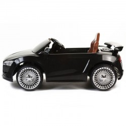 Audi Style 12v Ride on Kids Car with Remote - Black