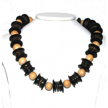 Wooden Choker Necklace