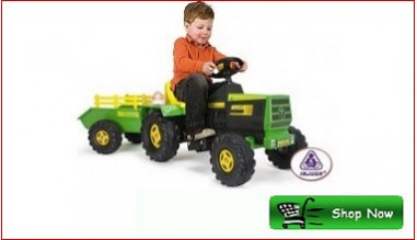 Kids Electric Driveable Tractor